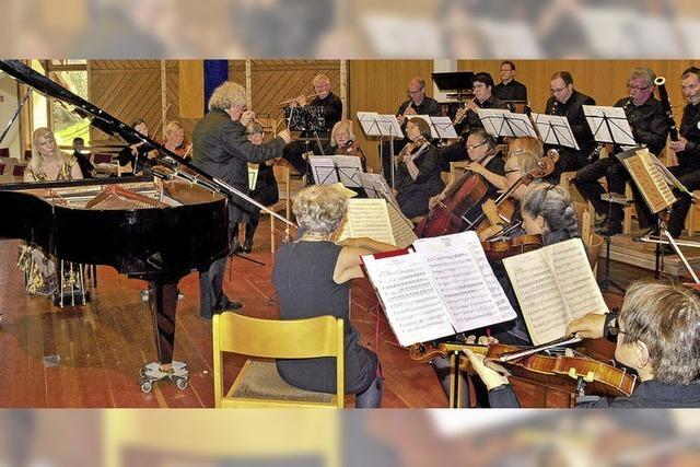 Dialog zwischen Solistin und Orchester