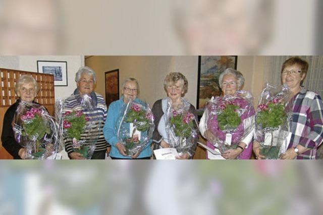 Maria Schwär ist nun Ehrenmitglied