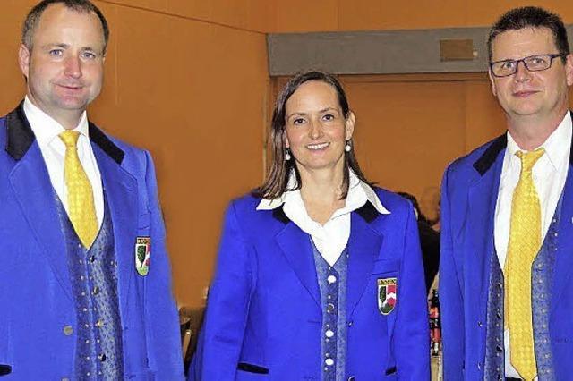 Neues Vorstandsteam beim Musikverein Buchenbach