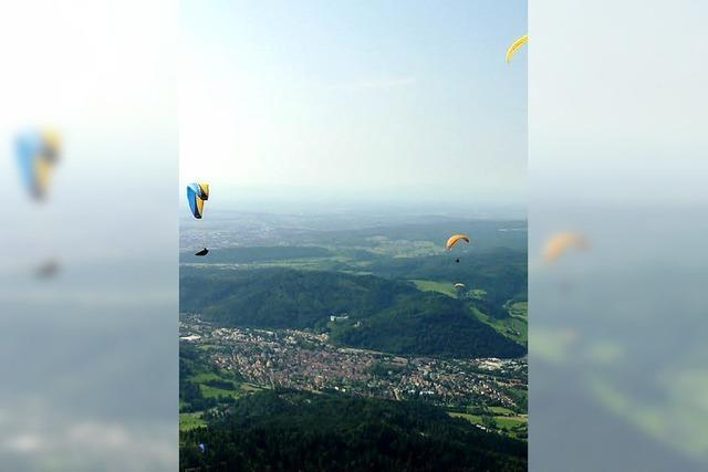 40 Jahre Drachen- und Gleitschirmfliegerclub Südschwarzwald