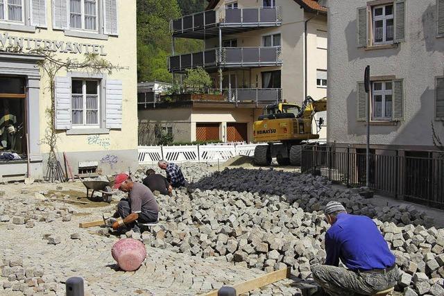 Straßenbauarbeiten gehen in die Endphase