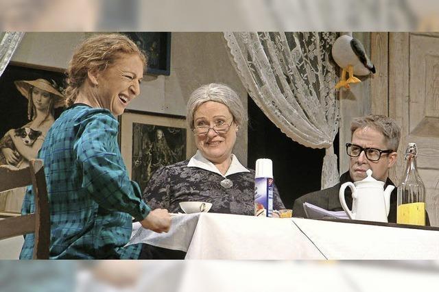 Quasselköppe, die bei Oma Kröger ein- und ausgehen