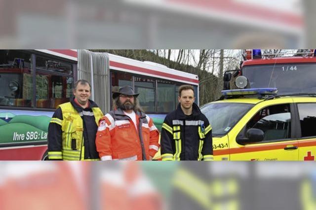 150 Rettungskräfte proben für den Notfall