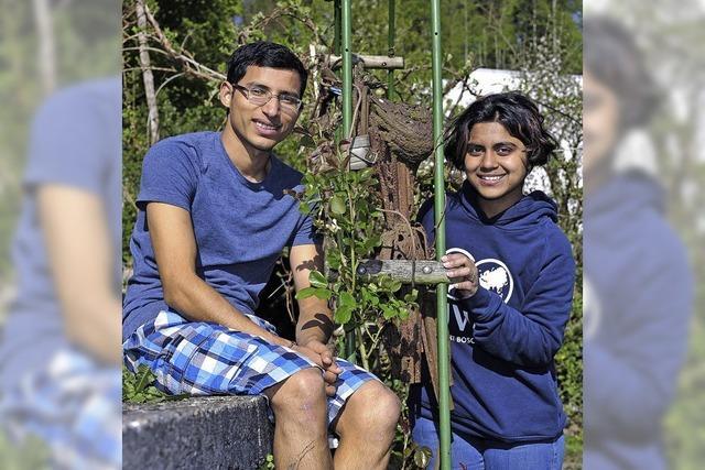 Schüler aus Indien und Pakistan lernen im Freiburger United World College