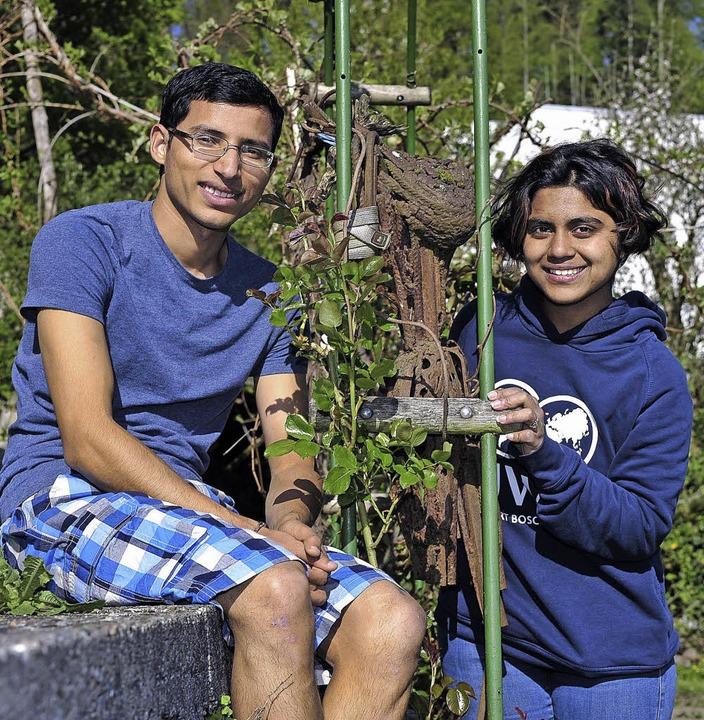 Sajjad Ali und Geeta Tejas Renuse – Nachbarn in Freundschaft   | Foto: Kunz