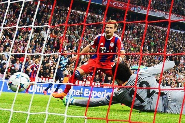 6:1 - FC Bayern stürmt ins Halbfinale der Champions League