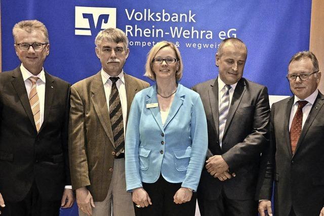 Volksbank Rhein-Wehra hält Kurs