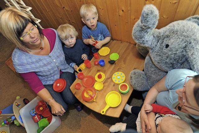 Kinderbetreuung in den eigenen vier Wänden