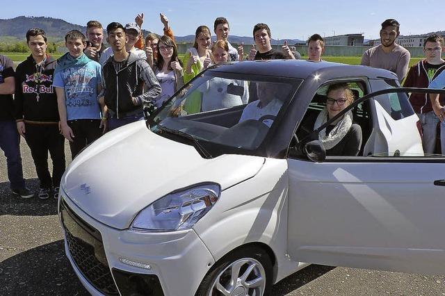 Führerscheinvorbereitung auf dem Lehrplan