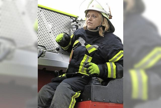 Eine Umkleide für Feuerwehrfrauen