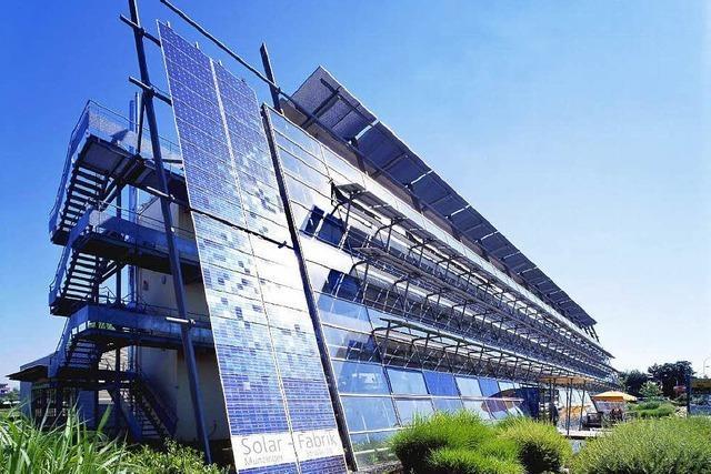 Freiburger Solar-Fabrik steht vor ungewisser Zukunft