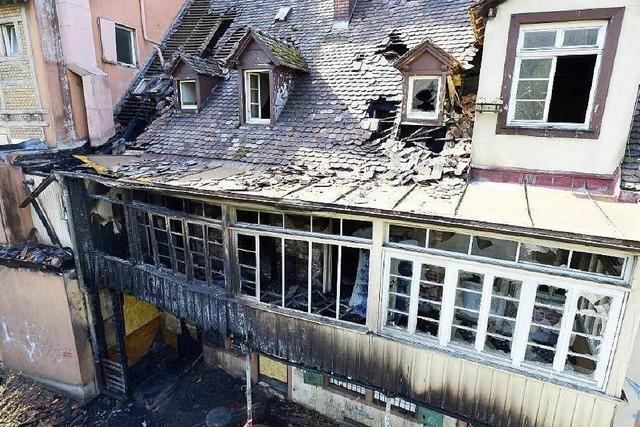 Nach Brand: Dreikönigshaus muss teilweise abgerissen werden