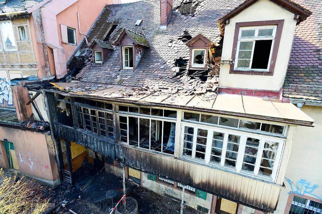 Dieser Teil des Dreikönigshauses wird abgerissen.   | Foto: Ingo Schneider