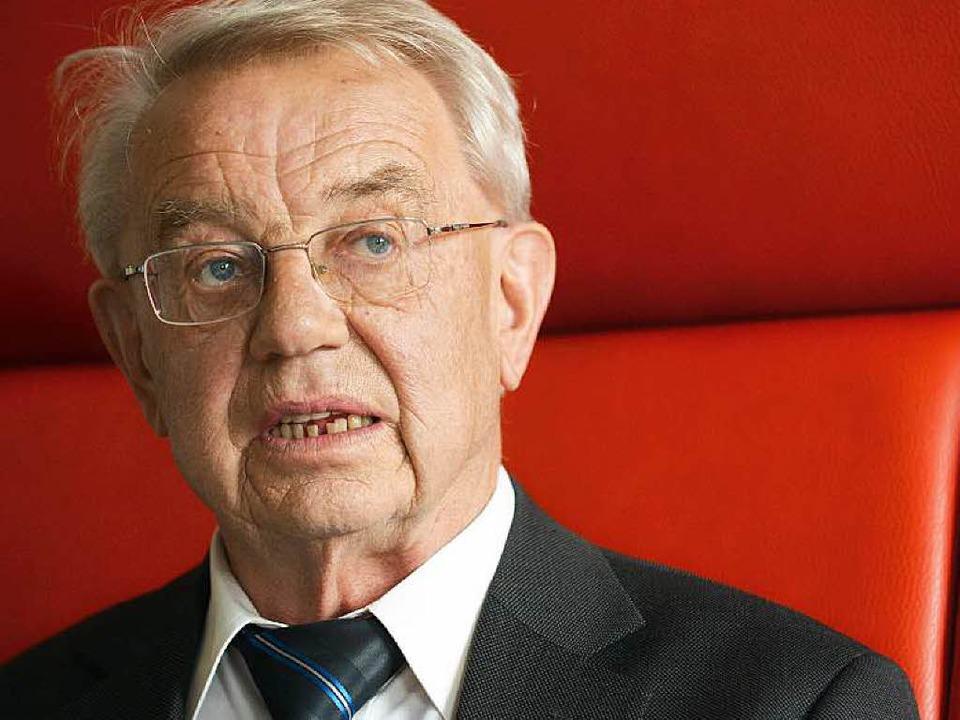 Heinz Kälberer   | Foto: dpa