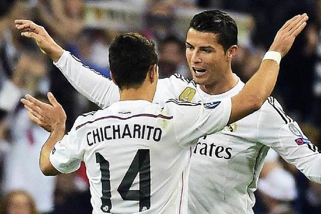Real Madrid und Juve im Champions-League-Halbfinale