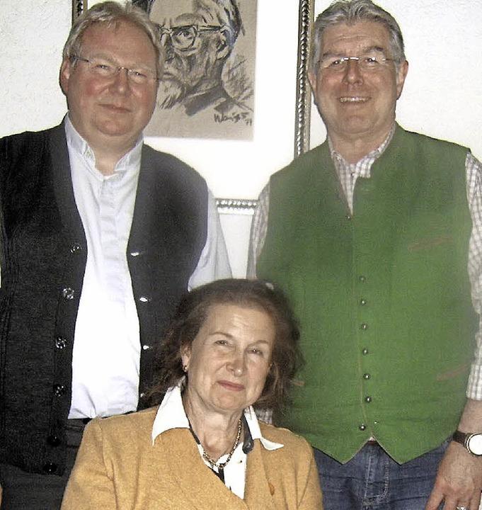 Der Vorstand der neuen Seelsorgeeinhei...hbach, stellvertretender Vorsitzender     Foto: Ernst Brugger