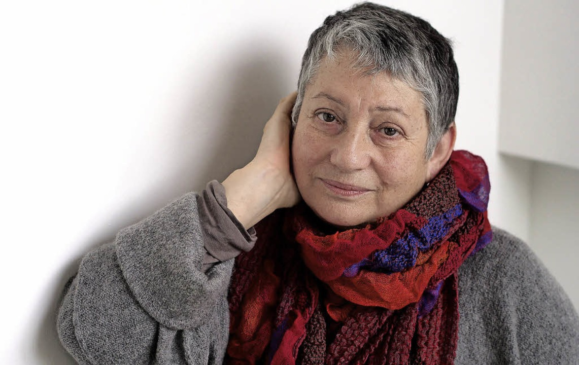 Die russische Schriftstellerin Ljudmila Ulitzkaja  | Foto: Peter Hassiepen