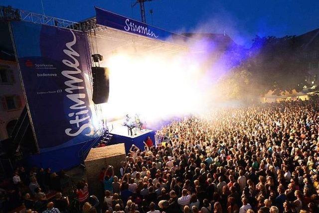 Stimmen Festival in Lörrach