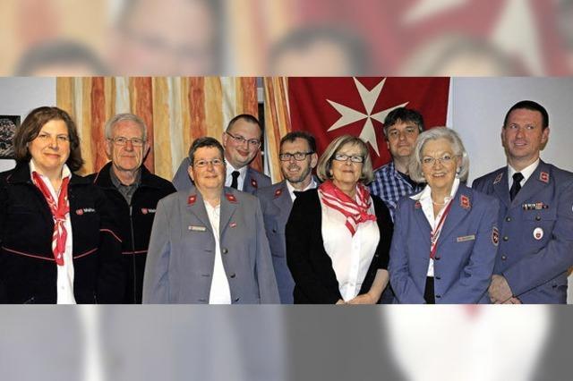 Bad Säckingen ehrt Malteser-Ausbilder Norbert Reckel mit der goldenen Ehrennadel