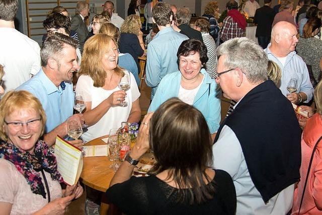 Weinmesse beginnt mit einem Schreck