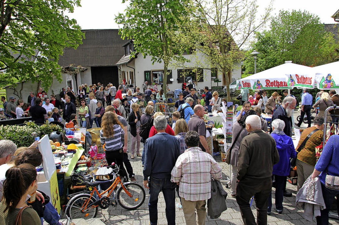 Wenn in Gallenweiler Frühlingsfest mit...satz, um zu kaufen und zu verkaufen.      Foto: Sabine Model