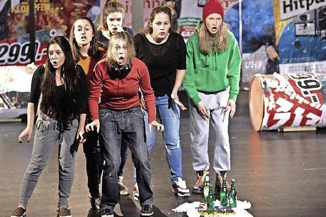 Inszenierung der Jungen Theaterakademie Offenburg im Salmen