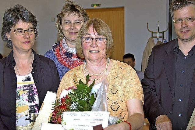 Gerhild Danner ist Rekordspenderin