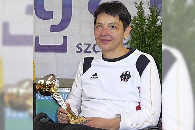 Weltcup-Bronze für Sabine Brogle