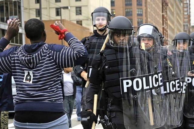 Festnahmen nach Randale in Baltimore