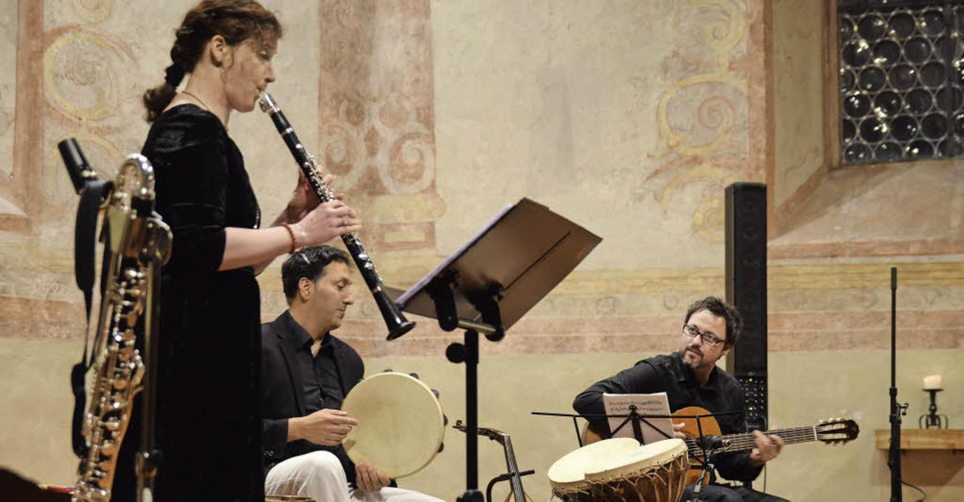 Das Ensemble FizFüz gastierte in der Martinskirche.     Foto: Beatrice Ehrlich