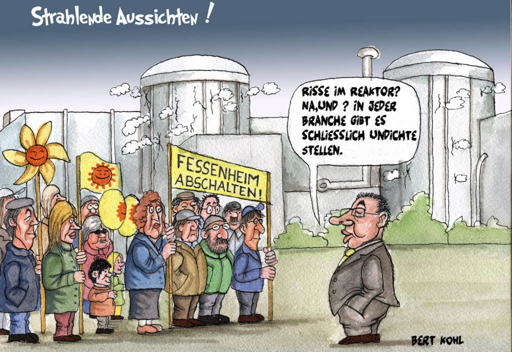 So sieht Karikaturist Bert Kohl die Au...toNurRepro>bert kohl</BZ-FotoNurRepro>  | Foto: Bert Kohl