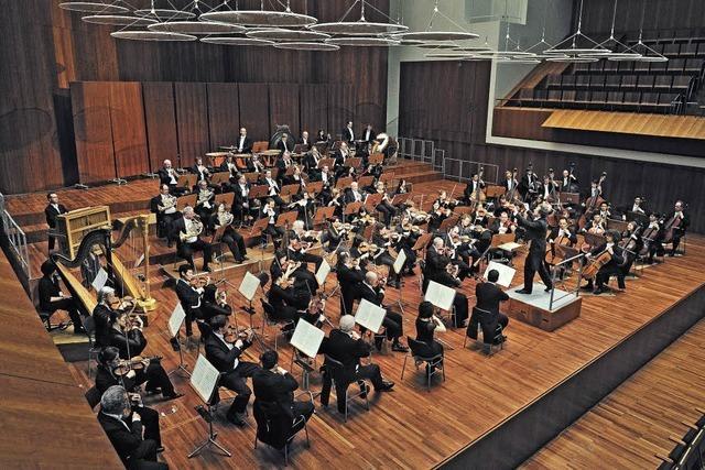 Das Philharmonische Orchester im Konzerthaus Freiburg