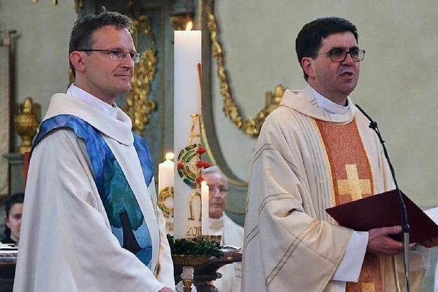 Emerich Sumser als neuer Pfarrer eingeführt