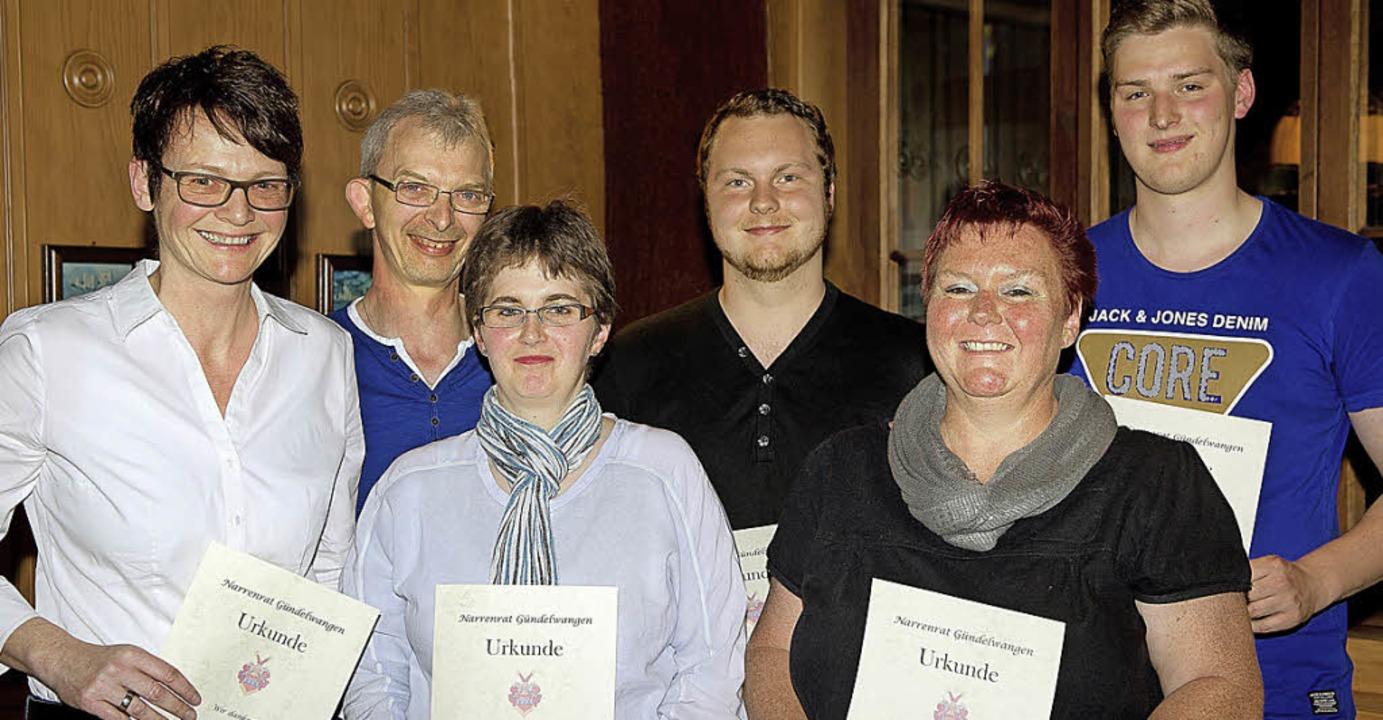 Langjährige Mitglieder wurden bei der ... Sibylle Lossau, Ferdinand Duttlinger   | Foto: Wolfgang Scheu