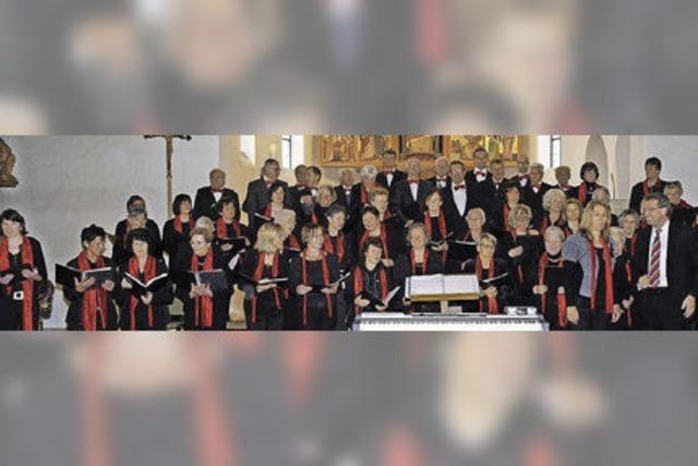 Chöre aus Titisee und Breitnau geben ein Konzert in Titisee