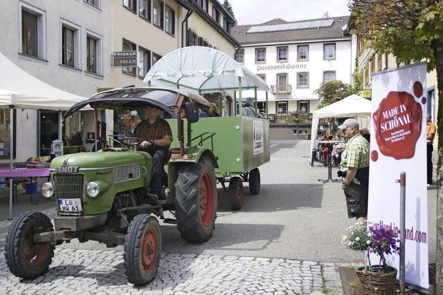 Mit dem Traktor gemütlich durch ganz Schönau