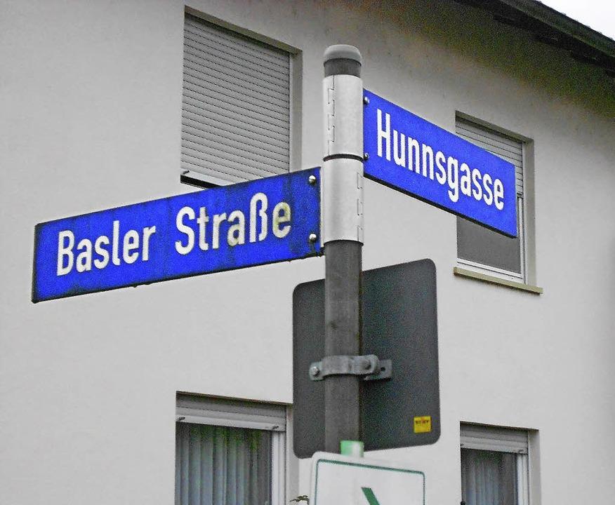 Die Quartiersgrenze verläuft entlang der Hunnsgasse.   | Foto: langelott