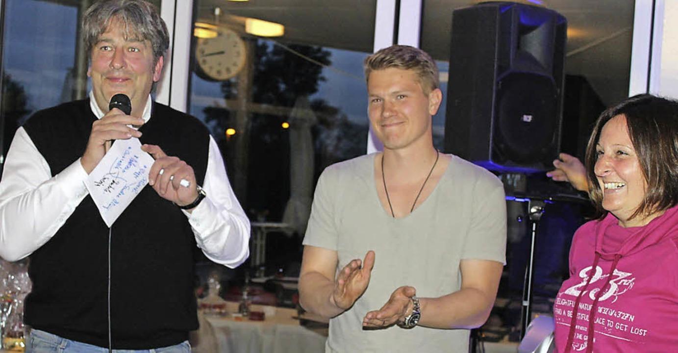 Saisoneröffnung: Mit großem Ehrgeiz st...im Bild Vorsitzender Tilo Kaltenbach.   | Foto: Albert Greiner