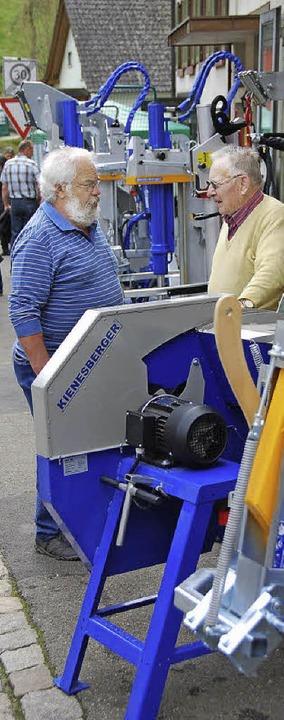 Neueste Technik wurde präsentiert.  | Foto: Edgar Steinfelder