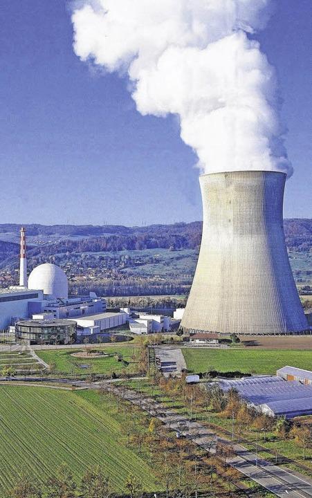 Das Kernkraftwerk im schweizerischen Leibstadt  | Foto: BZ