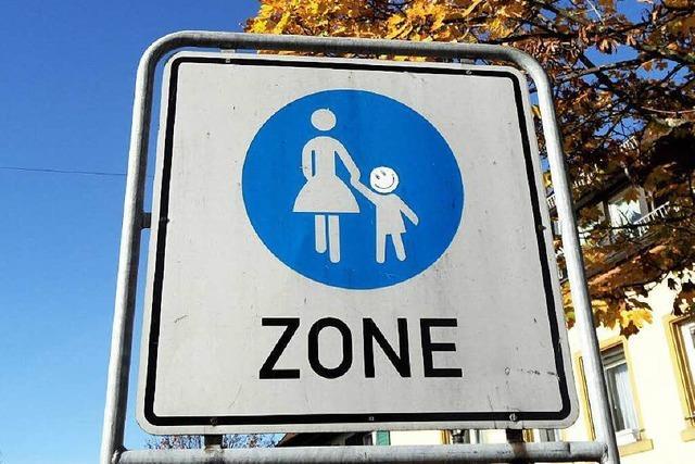 Eine neue Fußgängerzone sorgt für Verwirrung