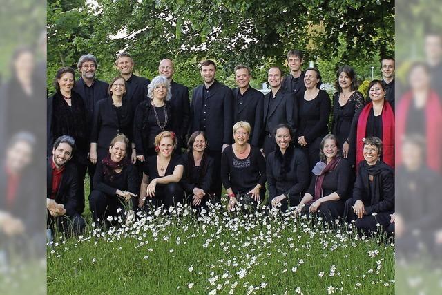 Das John-Sheppard-Ensemble singt in Müllheim, Freiburg und Teningen