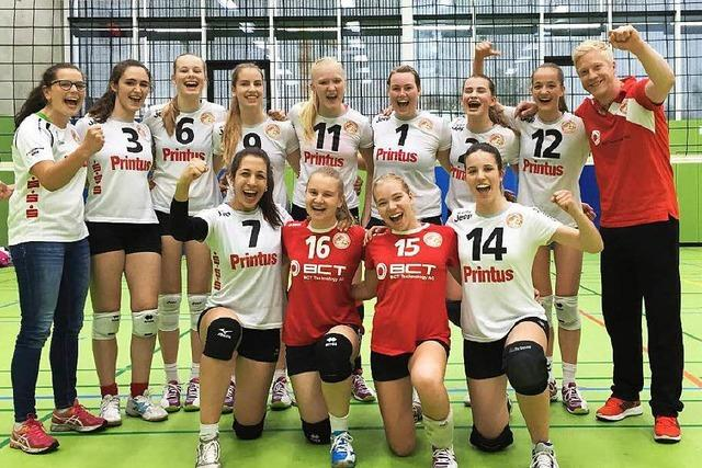 U 20 des VC Offenburg zur Deutschen Meisterschaft