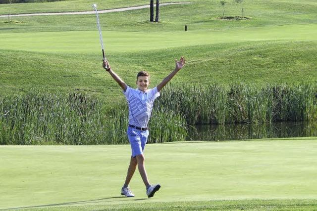 Golfen trotz Rückschlag