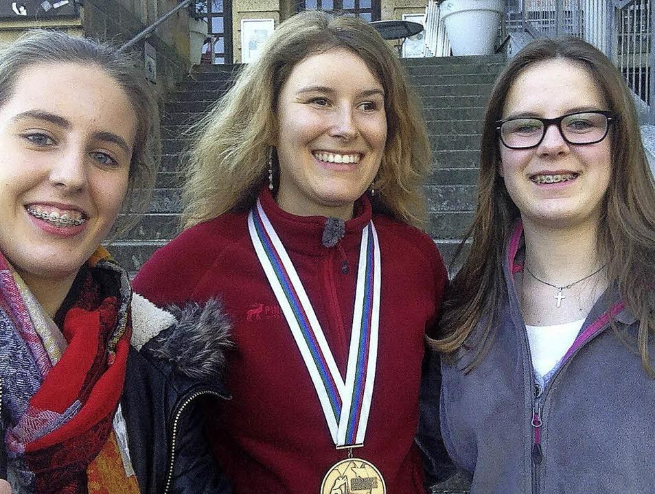 Sarah Köbele, Vivian Hösch und Lara Hösch (von links)   | Foto: privat
