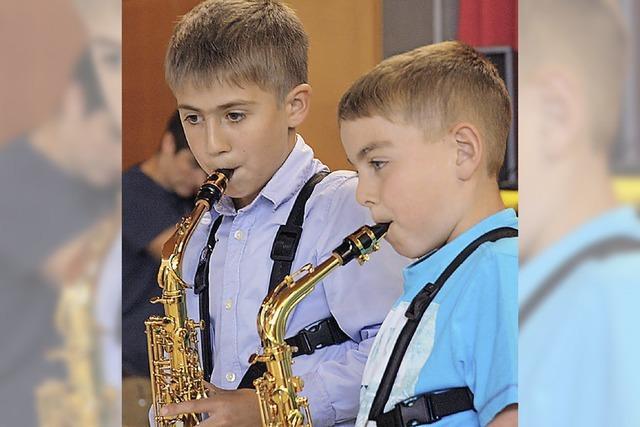 60 Jungmusiker zeigen ihr Können