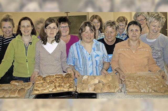 Brotbacken ist der Renner