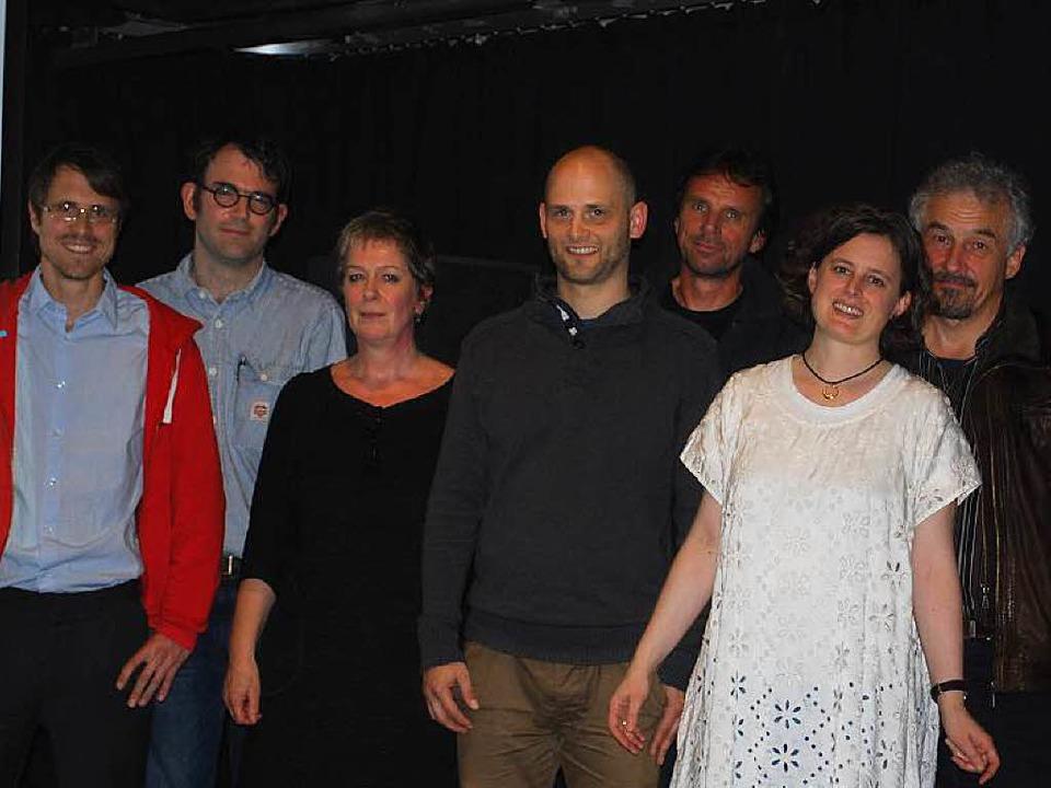 Der Vorstand: Philipp Schließer, Phili...elia Kneser, Hans Kaufmann (von links)  | Foto: Thomas Loisl Mink