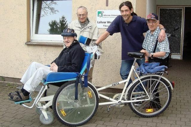 Eine Rikscha für Senioren