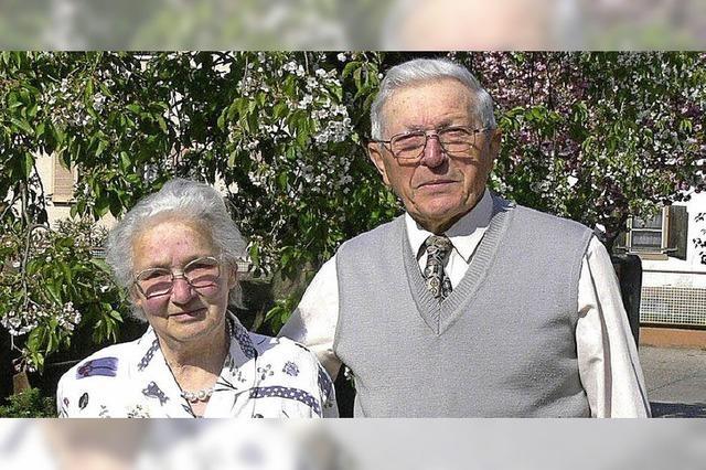 65 Jahre gemeinsam durchs Leben